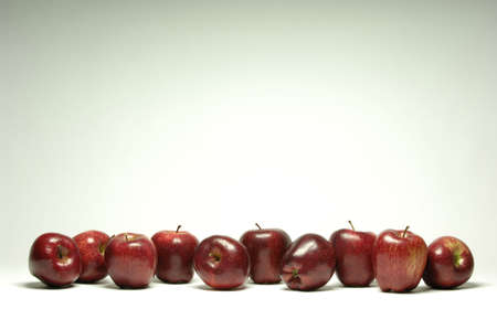 Red apples Standard-Bild
