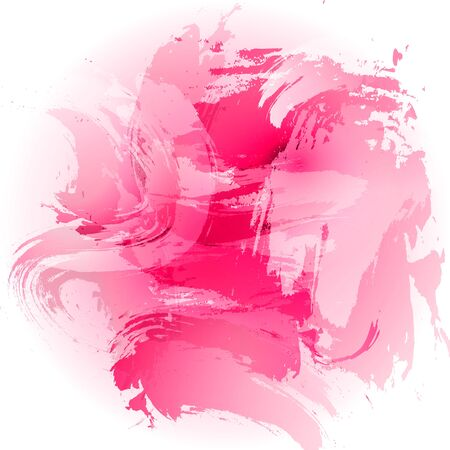 simulation: Simulation vector watercolor. Abstract pink background