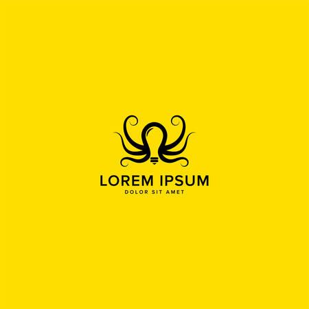 Octopus-Kraken-Idea-Logo