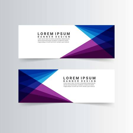 modern banners with geometric shapes Фото со стока - 128383590