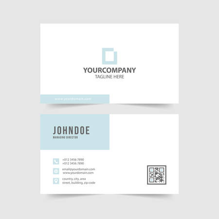 modern  simple  business card template collection