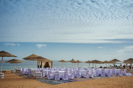 Red sea egypt vacaion sand blue sky wedding decoration stock photo red sea egypt vacaion sand blue sky wedding decoration stock photo 68731123 junglespirit Images