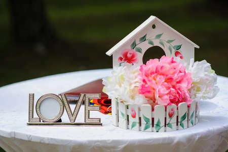 Love wedding deocration flowers vintage nice pink outdoor summer love wedding deocration flowers vintage nice pink outdoor summer stock photo 68738878 mightylinksfo
