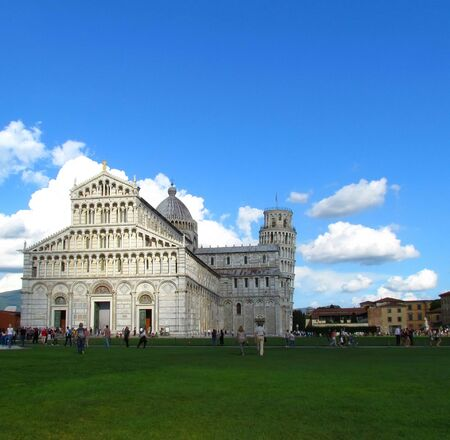 Pisa Cathedral in honor of the assumption of the virgin Mary (Italian. Duomo di Santa Maria Assunta) - the Cathedral of Pisa, part of the ensemble of Piazza dei Miracoli. It is one of the most significant monuments of Romanesque architecture in Italy.