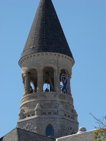 acute angle: Bell tower and Ribbon