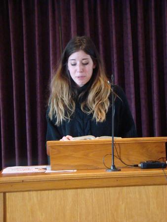 preaching: Woman preaching