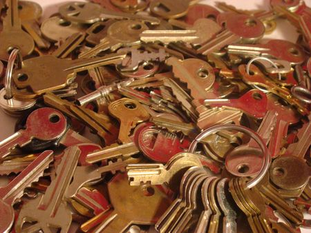 Bunch of keys for a bunch of different uses