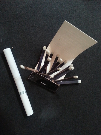 Cigarette and Matches photo