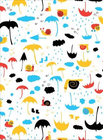 Rainy Days Graphic illus