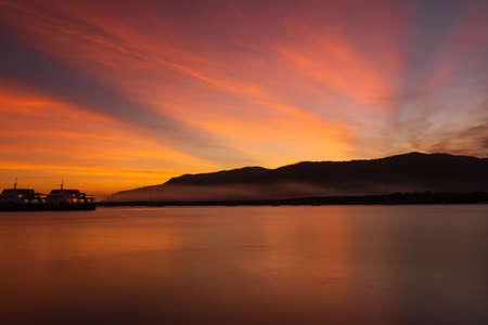 seacoast sunset