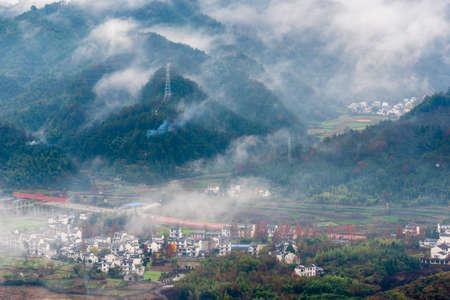 The first mountain in the south of the Yangtze River - Qiyun Mountain 版權商用圖片