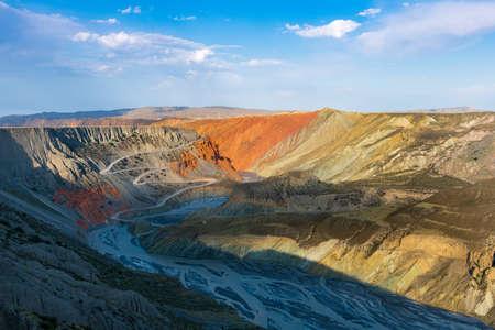 Chinas Xinjiang Anjihai Grand Canyon