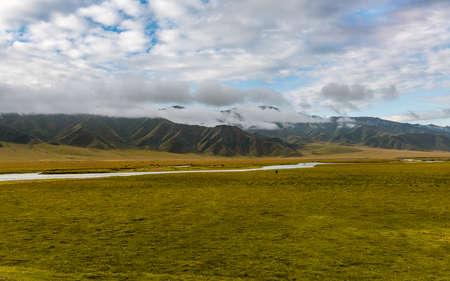Bayinbulak Grassland, Hejing County, Xinjiang, China