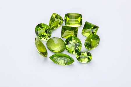 green gemstones: Green gemstones