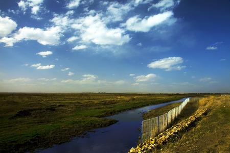 fencing: Prairie sky, fencing