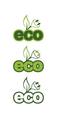 Eco 1 Stock Vector - 39549711