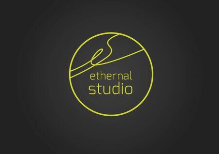 ethernal studio black Stock Vector - 39550304