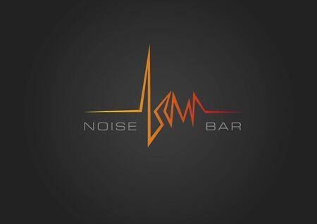 Noise bar black