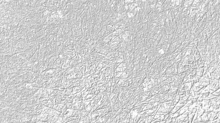 Abstract image on a white background with gray lines on a floral theme. Gray patterns on a white background. Herbal and floral pattern.