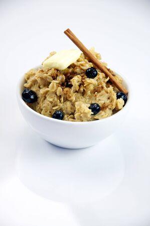 oatmeal: Oatmeal with Blueberries