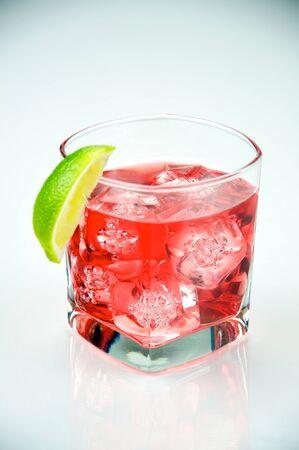Cape Cod AKA Vodka Cranberry served on the rocks