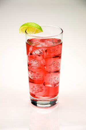 Cape Cod AKA Vodka Cranberry served in a highball Stock Photo