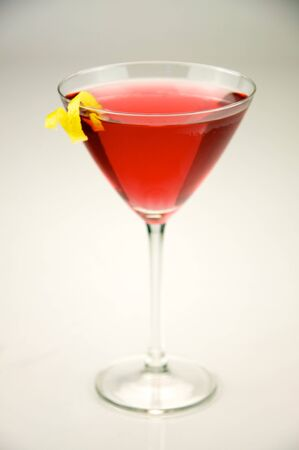 Cosmopolitan served in a Martini Glass