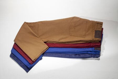 Colored men's trousers