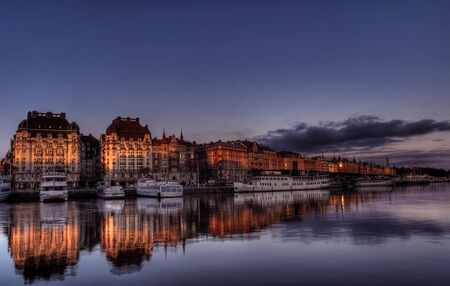 Stockholm. City on water.
