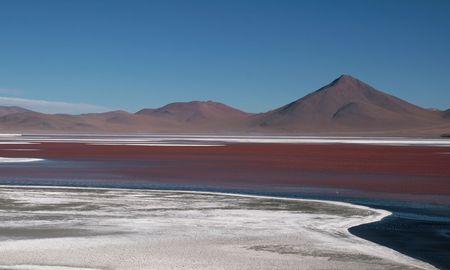Laguna Colorada Stock Photo