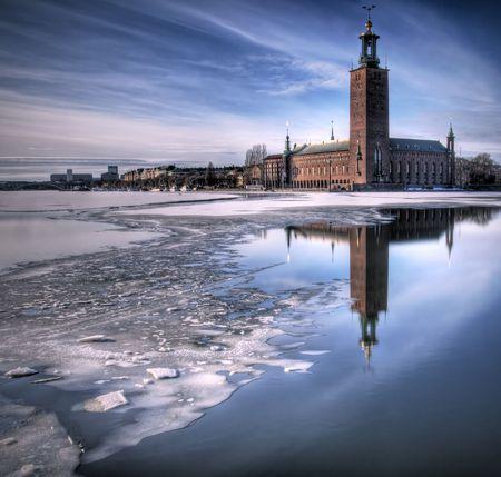 City Hall Stockholm, Sweden.