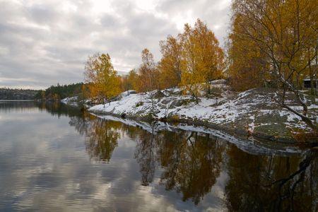 late fall: Late fall- Early winter