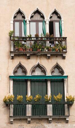 Venice vintage windows Stock Photo - 9173748