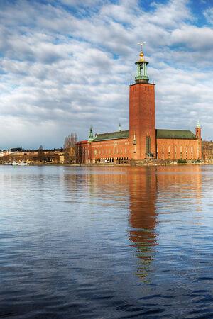 cityhall: Stadshuset, Stockholm city-hall  Famous landmark in Stockholm