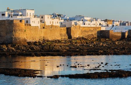 atlantic: Asilah on the Atlantic coast in Morocco.