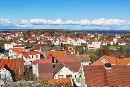 Island village on Swedish west-coast. Stock fotó - 82975993