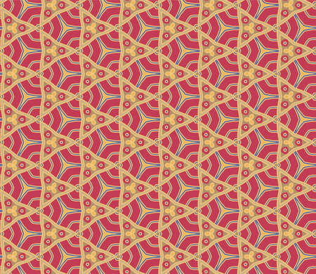 Abstract pattern red Stock Vector - 22310355