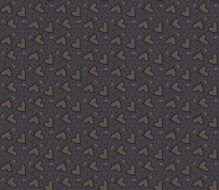 amorousness: Seamless pattern with hearts