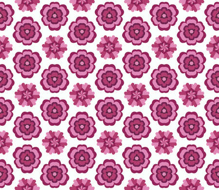 twiddle: Seamless abstract pattern with flowers