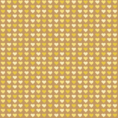Seamless abstract pattern with color little hearts Vector