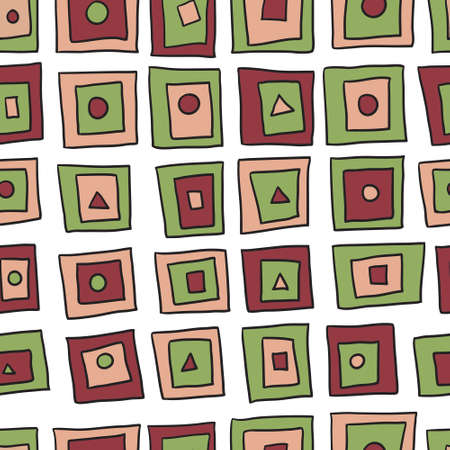 tore: Seamless abstract simple pattern. Can be used for wallpaper, webpage background, wrapper paper, textile and fabrick. Vector illustration. Illustration