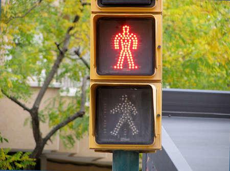 semaforo peatonal: Luces para peatones sem�foro rojo