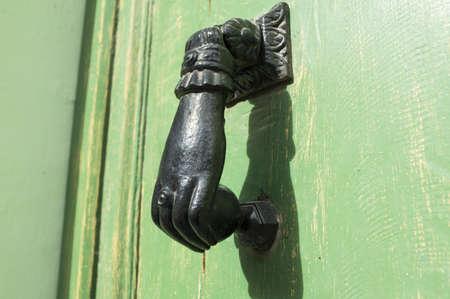 Door Knocker classic in black photo