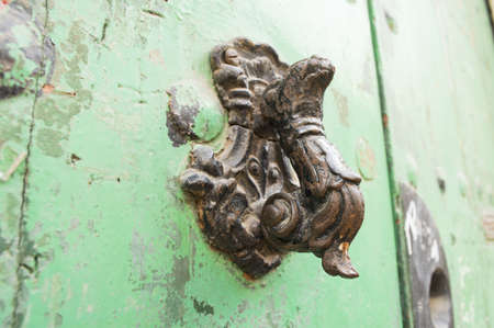 Door Knocker classic in black photo
