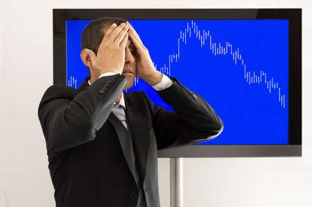 desperate economist market losses