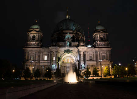 Berlin Cathedral in German Berliner Dom  A famous landmark on the Museum Island in Mitte, Berlin photo