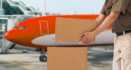 cargo aircraft for air parcel delivery service