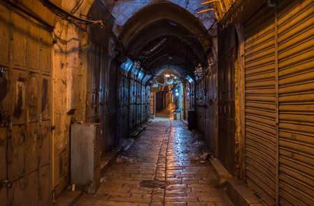 Alley at the Jerusalem Old City Market