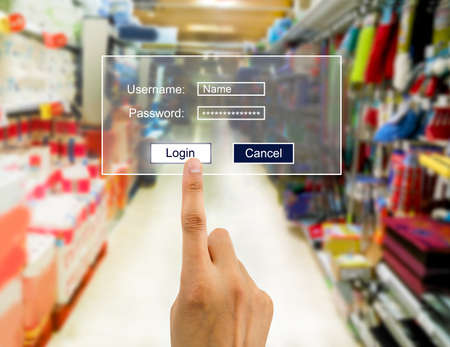 ecomerce: hand you enter the password for internet connection with e-comerce. All screen content is designed by me and not copyrighted by others and created with wacom tablet and ps