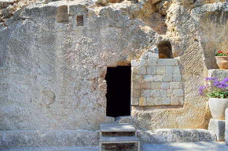 proposed: Jerusalem Garden Tomb in Jerusalem one of two sites proposed as the place of Jesus burial in Israel